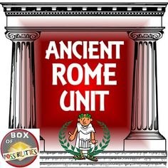 This unit contains multiple readings, activities, and worksheets related to ancient Rome. A great unit for middle-school or upper elementary students.