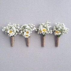 rustic buttonhole flowers - Google Search More