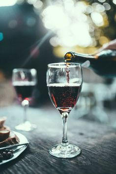 Place red wine in the refrigerator for about 15 minutes before serving. Reds from the counter are generally too warm and emphasize the alcohol.