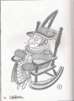 renda de bilros / bobbin lace Bonecos / Dolls Lace Knitting, Crochet Lace, Ribbon Embroidery, Embroidery Stitches, Russian Crochet, Types Of Lace, Fillet Crochet, Bobbin Lace Patterns, Lacemaking