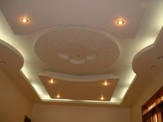 POP ceiling with ceiling fans ....