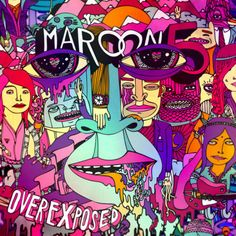 Maroon 5 Announce New Album 'Overexposed' And Single 'Payphone' Feat Wiz Khalifa Worst Album Covers, Music Album Covers, Music Albums, Cover Art, Cd Cover, Top 10 Albums, Best Albums, Best Album Art, Greatest Albums