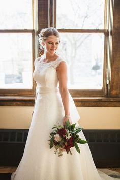 Vintage Wedding Ideas - vintage coffee house wedding inspiration | Elizabeth Haase Photography | Glamour & Grace
