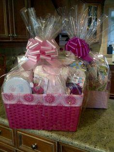 Baby Girl Gift Baskets!