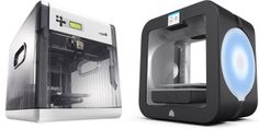 Best 3D Printers 2014 Pictured: XYZ Printing da Vinci and Cubify Cube 3