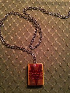 Mini Book Necklaces: Slaughterhouse-Five by Kurt Vonneguy Mini Book Jewelry by GidgetsTreasures on Etsy #slaughterhousefive #kurtvonnegut #minibookjewelry #minibooks #bookcharms #booknecklaces