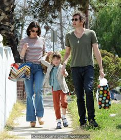 Milla Jovovich and husband Paul W. S. Anderson take their daughter Ever to a birthday party http://www.icelebz.com/events/milla_jovovich_and_husband_paul_w_s_anderson_take_their_daughter_ever_to_a_birthday_party/photo3.html