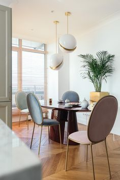 Central Riga apartment for a young family of jet-setters. Here we were inspired by the Miami style with mid-century modern elements, mixing it in bright colours. Designer Agnes Rudzite.
