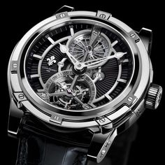 Louis Moinet the Vertalor - The Vertalor expresses all the technical and aesthetic quintessence of Ateliers Louis Moinet, and is one of the finest expressions to date of what makes this independent maison based in Neuchâtel so singular.