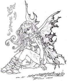 Coloring Printable How A Pages More Fairies Fairies Scene Arent