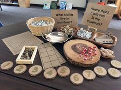 Math questions as part of Reggio-based provocations & Inquiry (via Richmond School District) Kindergarten Inquiry, Literacy And Numeracy, Preschool Math, Teaching Math, Math Centers, Math Activities, Math Math, Math Classroom, Reggio Emilia Classroom