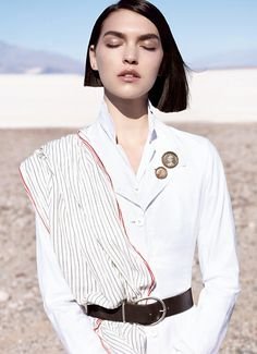 Arizona Muse in Vogue China May 2012 by Josh Olins