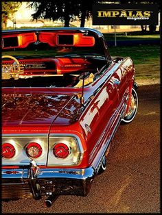 Vintage Auto And Shiny Red Auto Retro, Convertible, Old School Cars, Automobile, Chevrolet Impala, 1957 Chevrolet, Chevrolet Trucks, Us Cars, Sexy Cars