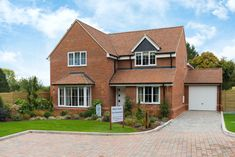 New build homes for sale in Berkshire, Buckinghamshire, Hertfordshire and London. Find your new homes on NK Homes website today. Family Homes, Home And Family, Kings Home, New Homes For Sale, Semi Detached, New Builds, Cabin, Bedroom, House Styles
