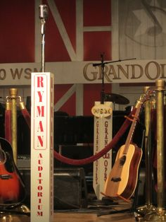Grand Ole Opry, TN where country music history is made