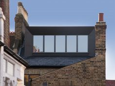 R&S House - Stylish contemporary refurbishment, loft conversion and rear extension in a Conservation Area in Lewisham. The elegantly detailed and crafted zinc-clad roof dormer provides an additional bedroom.  Designed by PLANSTUDIO (hello@planstudio.uk)  > The design was highly praised by the local planning authority as an exemplar approach to extending properties within conservation areas.   > The project featured in the London Time Out magazine as a highlight of Open House 2019.