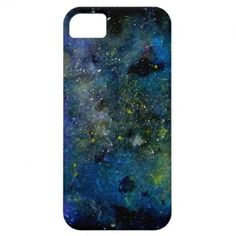 Cosmic starry sky - orion galaxy or milky way cosmos iPhone 5 case