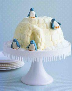 Christmas Dessert Recipes: Igloo Cake