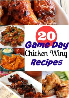 20 Game Day Wings Re