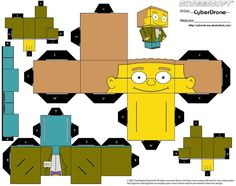 Cubee - Smithers by CyberDrone.deviantart.com on @deviantART