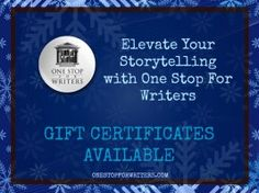 One Stop For Writers Gift Certificates Now Available