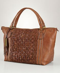 Lauren Ralph Lauren Handbag, Jackson Hole Tote - All Handbags - Handbags & Accessories - Macy's