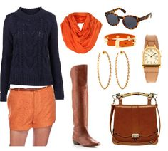 war eagle auburn gameday outfit orange and blue