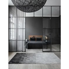 Linie Design Fade Rug With subtle gradation from dark to light, Fade calmly unifies a room. Designed in Denmark by leading Scandinavian designers, Linie Designs Cowhide rugs are individually made in I