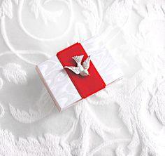Christmas Dove Book Miniature Photo Album by KandiceInWonderland, $24.00
