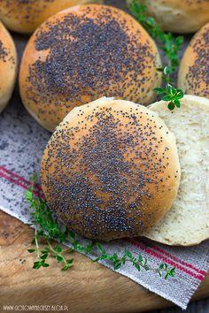 Najlepsze bułki pszenne - przepis