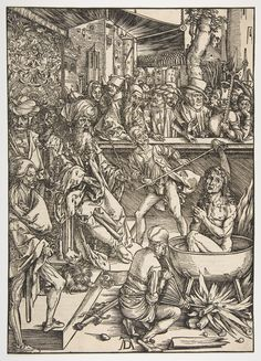 The Martyrdom of St. John, from the Apocalypse, Latin edition 1511 : Free Download & Streaming : Internet Archive