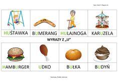 Polish Language, Hamburger, Education, Schools, Blog, Games, Speech Language Therapy, Learn Polish, School