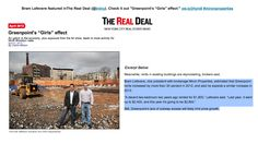 """Bram Lefevere featured inThe Real Deal (@trdny). Check it out """"Greenpoint's """"Girls"""" effect:"""" ow.ly/jHym8 #mironproperties"""