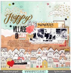 Big Happy Village @ No. 7 - Crate Paper - Wonder Collection