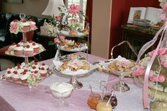 More food tea party