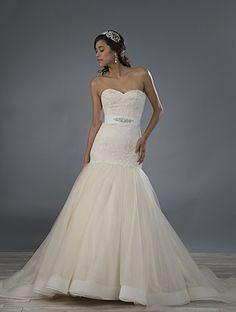 ALFRED ANGELO Bridal, Style 2474. #BestForBride