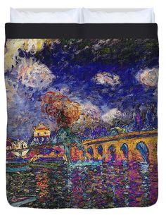 David Bridburg Duvet Cover featuring the digital art Rustic 13 Sisley by David Bridburg