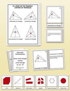 Geometry Elementary Nomenclature | Montessori Research and Developmen