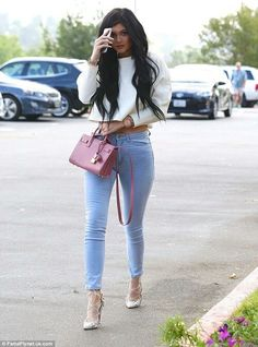 Just in love with her style. Kylie Jenner