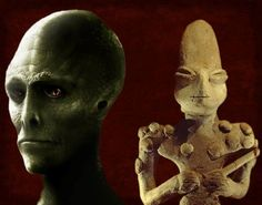 Reptilian Worship: The 7,000-Year-Old Ubaid Lizardmen Statuettes -- These 7,000 year-old statuettes discovered in Mesopotamia, the cradle of human civilization, show an odd resemblance to modern depictions of reptilian humanoids. Anunnaki connection? Most of the statuettes were uncovered from an archaeological site called Tell Al'Ubaid, a small settlement mound in southern Iraq. It predates the construction of the nearby Sumerian city-state of Ur by more than a thousand years. Little is…