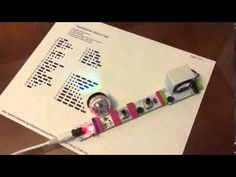 littleBits/Ozobot Morse Code Generator: Communication for the Deaf and Blind: a littleBits Project by RichB