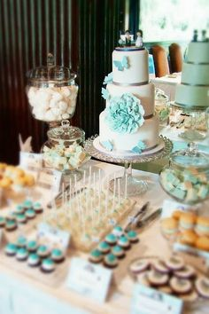 Soft Blue Wedding
