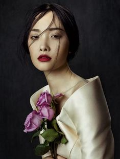 """Kwak Ji Young Captured By Zhang Jingna In """"Flowers In December"""" For Fashion GoneRogue - 3 Sensual Fashion Editorials 