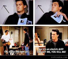 Chandler's BEST line ever!