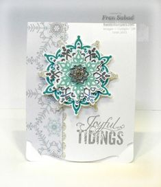 Festive Flurry from Stampin Up 2013 -2014 Autumn Winter catalogue