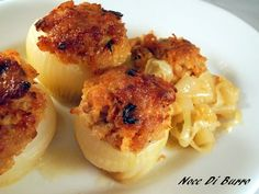 #Cipolle ripiene di #tonno #verdureripiene #verdure #secondo #antipasto #fingerfood #onions #tuna #food