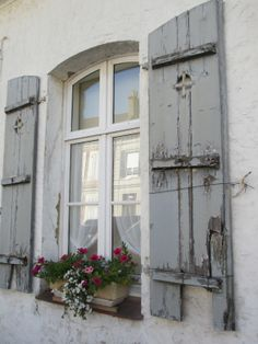 French shutters from The Nelson House Diaries