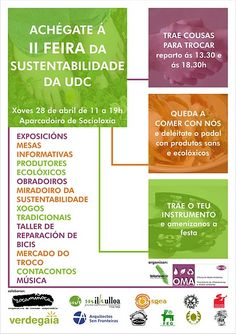 Universidade da Coruña: Feira da Sustentabilidade