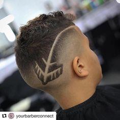 Como hacer cortes de cabello con figuras