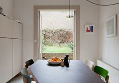 Table  via The Modern House Estate Agents: Architect-Designed Property For Sale in London and the UK